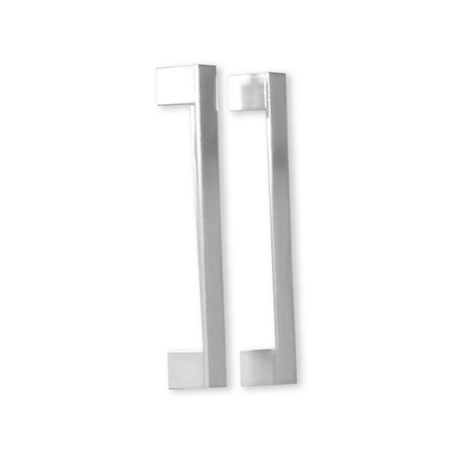 Chrome square narrow 160mm handles