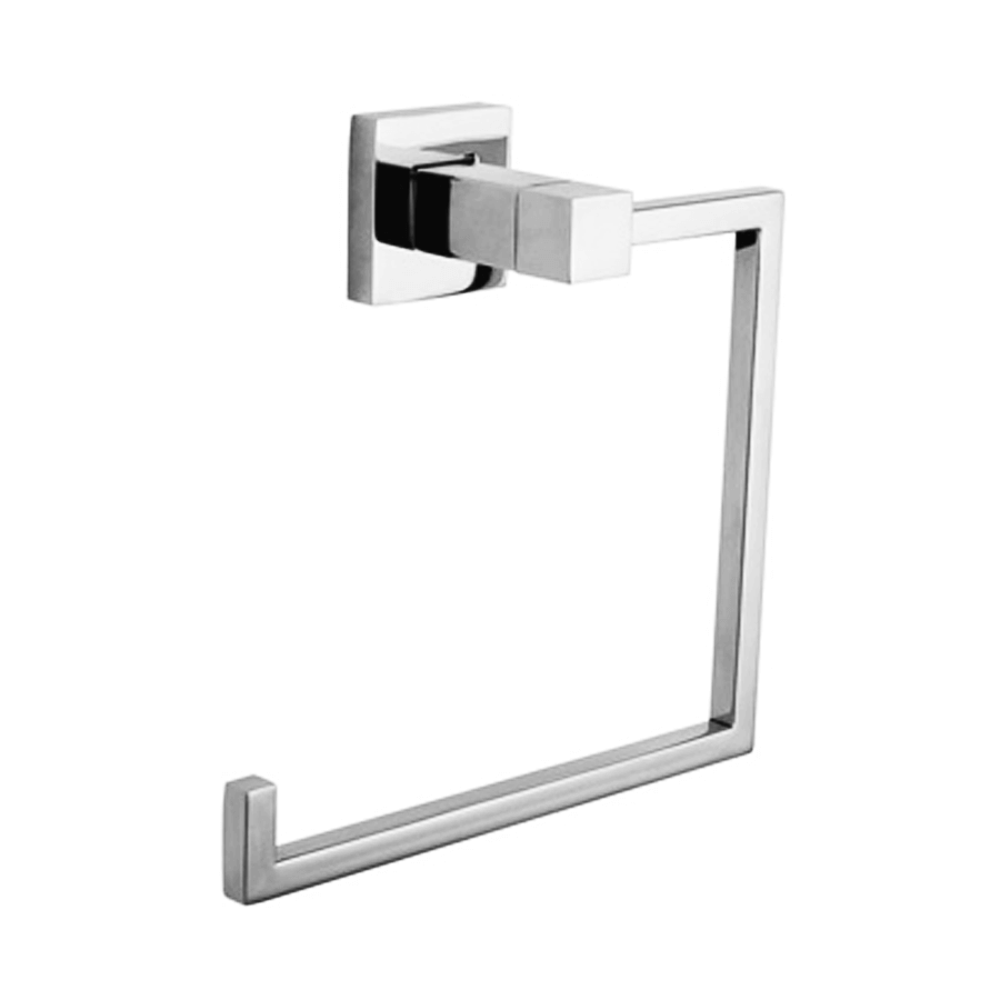 Square stainless steel hand towel holder hook