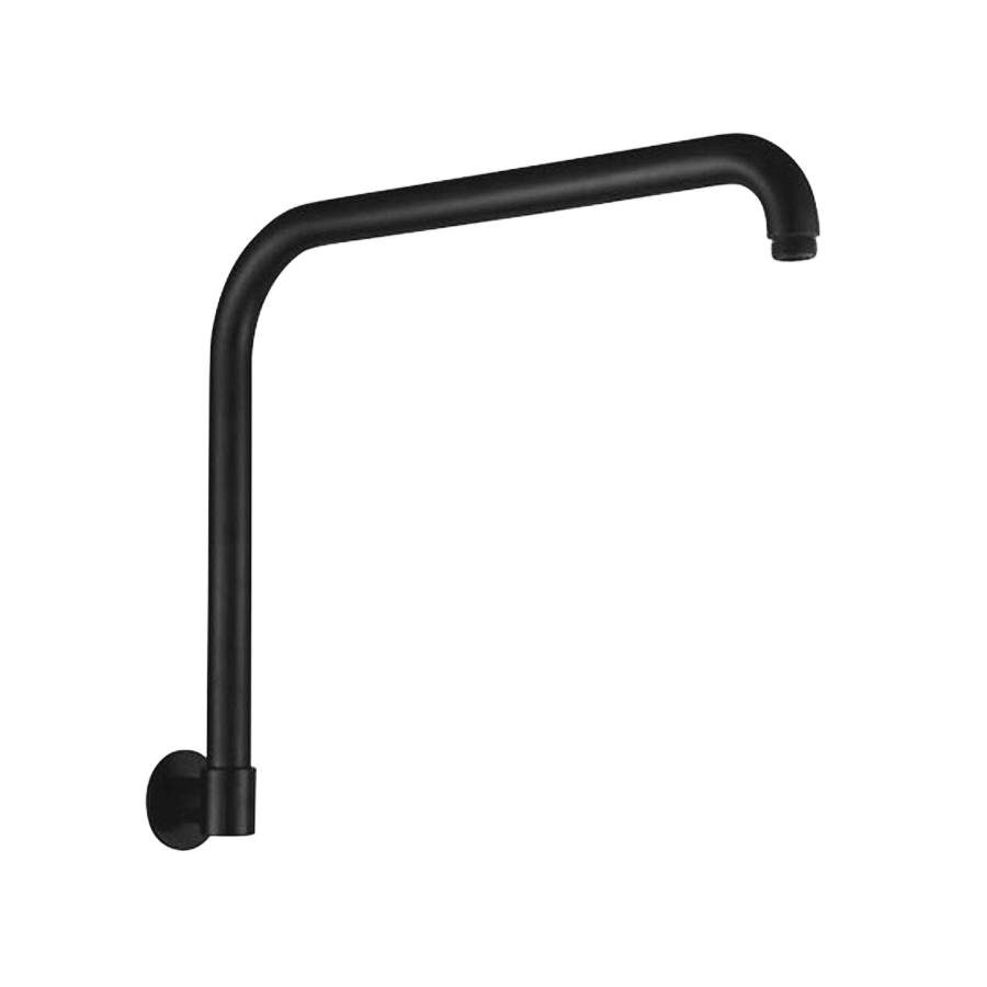 ARM - SOFIA GOOSENECK SHOWER ARM BLACK
