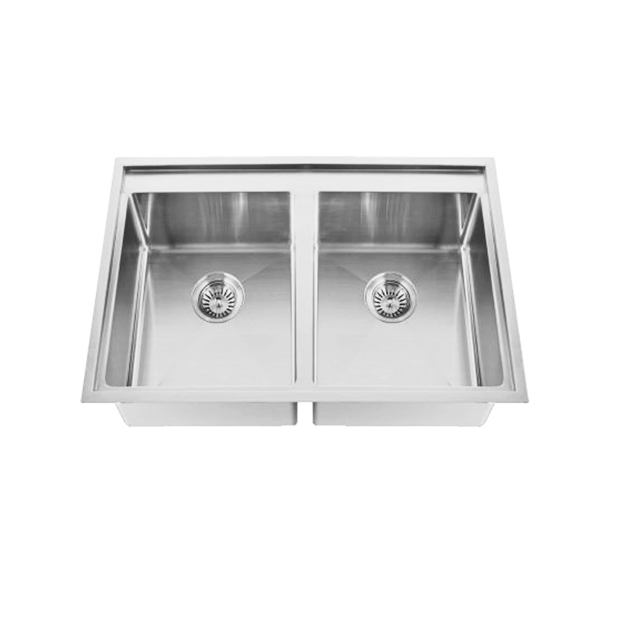 Inset tech 200 no drainer sink the sink warehouse for Bathroom cabinets 200mm wide