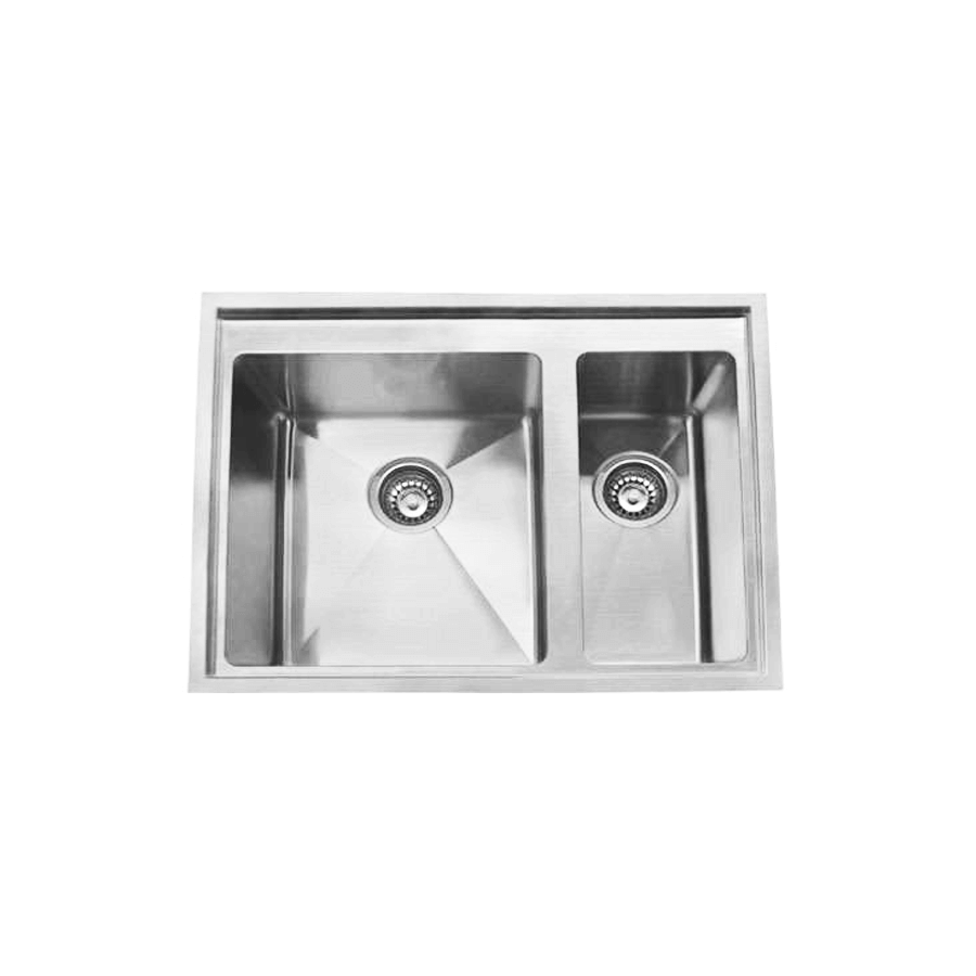 Inset tech 150 no drainer sink the sink warehouse for Bathroom cabinets 200mm wide