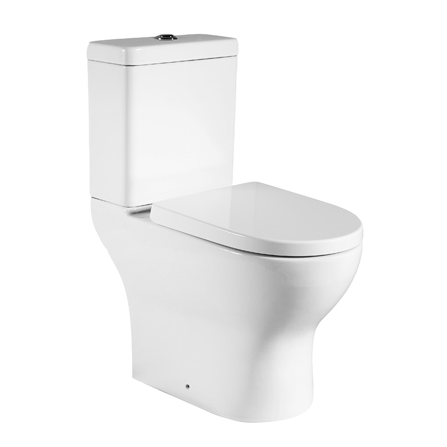 Skew Pan Outlet Toilet Suite