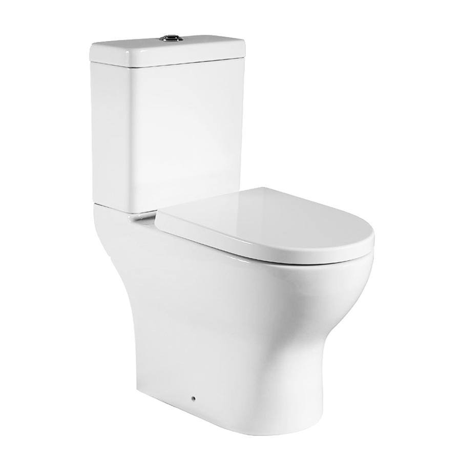 Skew back to wall toilet suite