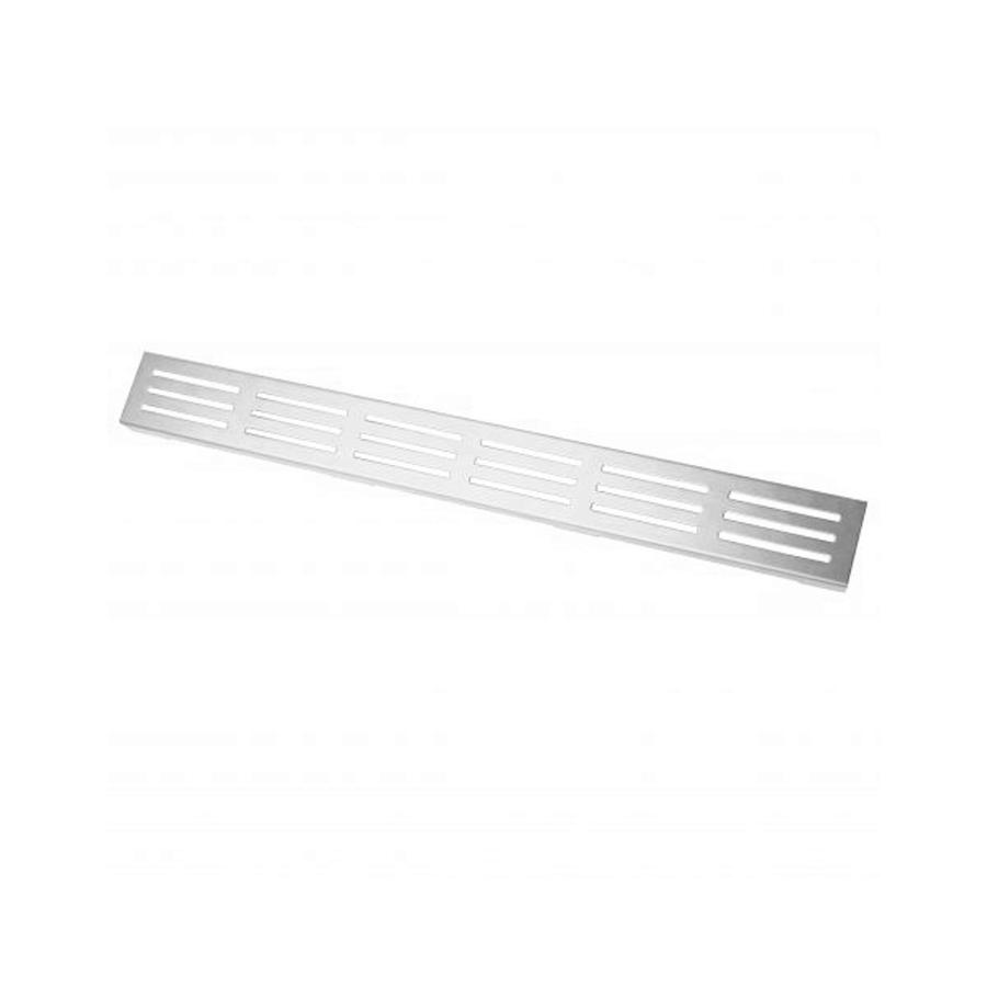 Rectangular 1200mm 316 marine grade stainless steel tile insert grate