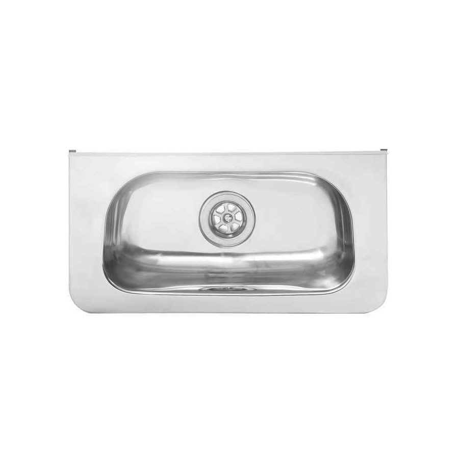 Stainless steel small wall hand basin