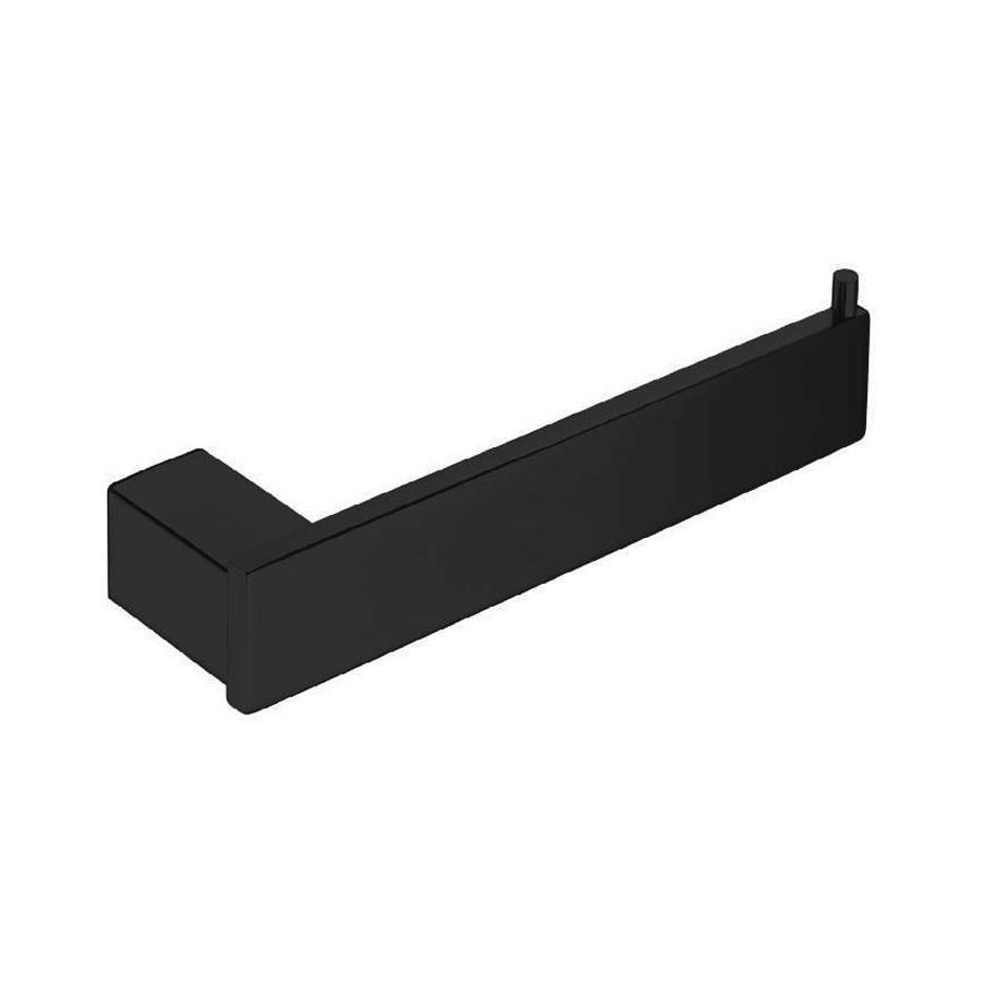 bathroom accessory product black toilet roll holder
