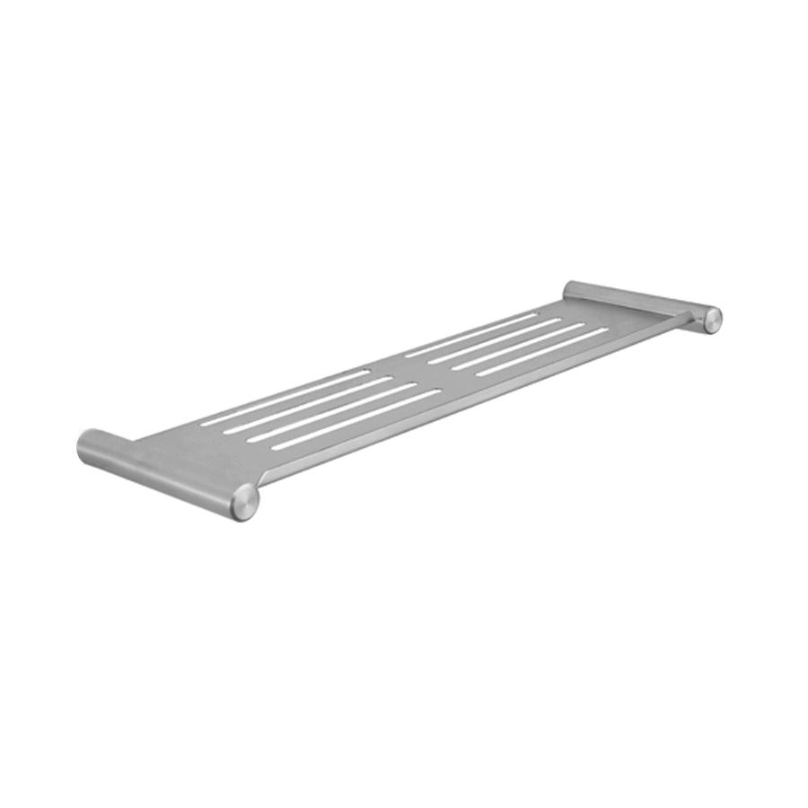bathroom round shelf stainless steel chrome