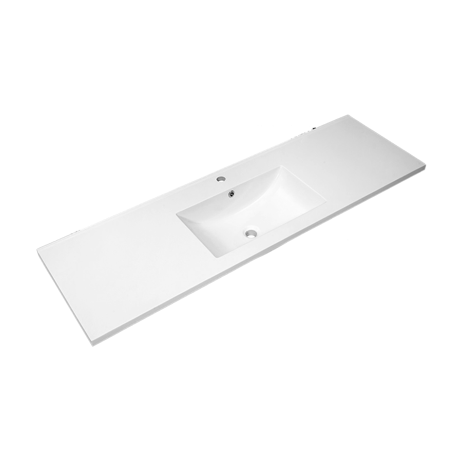 Quadro Polymarble Vanity Top ( Single Bowl / 1500mm)