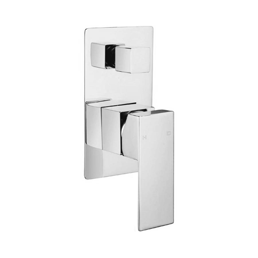 Shower/Bath Mixer - Quadro Chrome