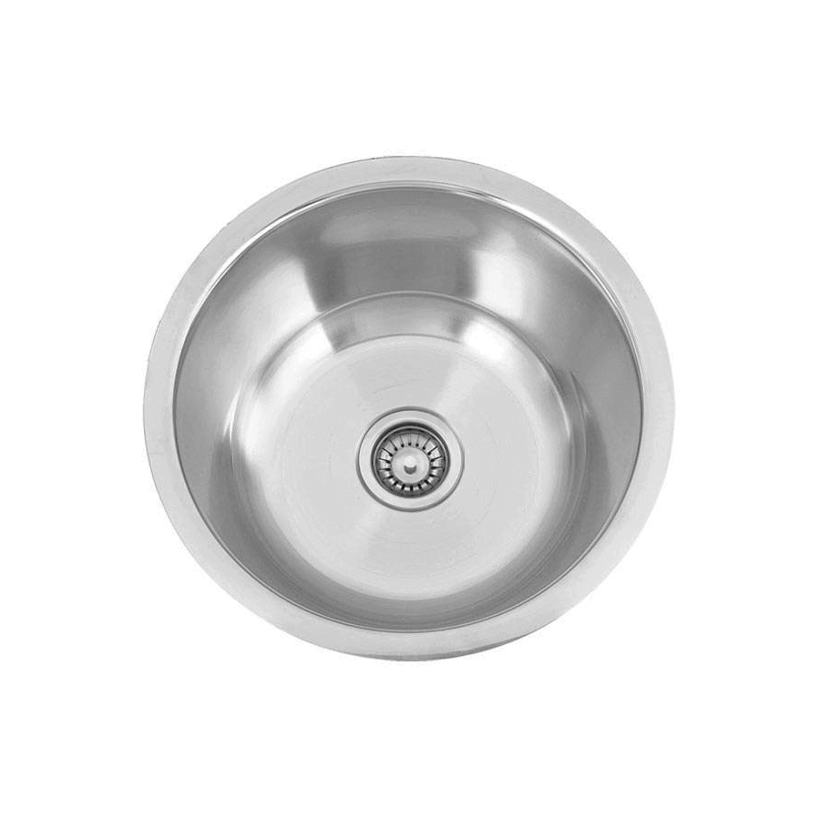 Stainless steel round hand basin 350mm