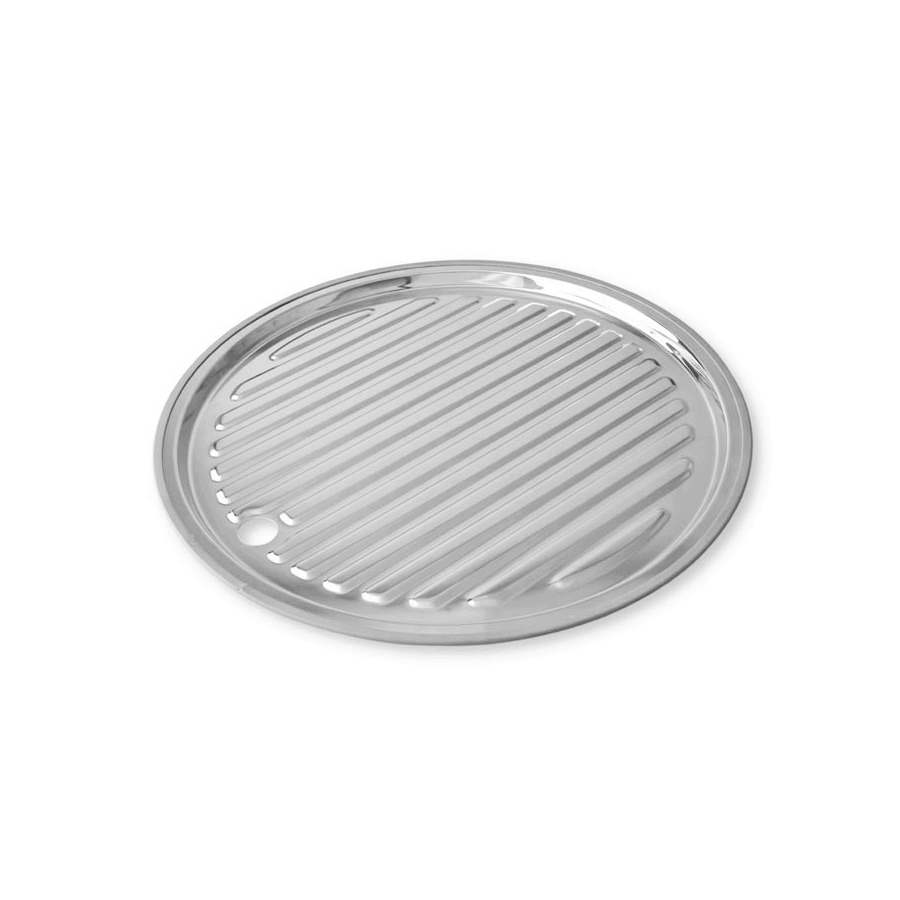 Stainless steel round detachable drainer