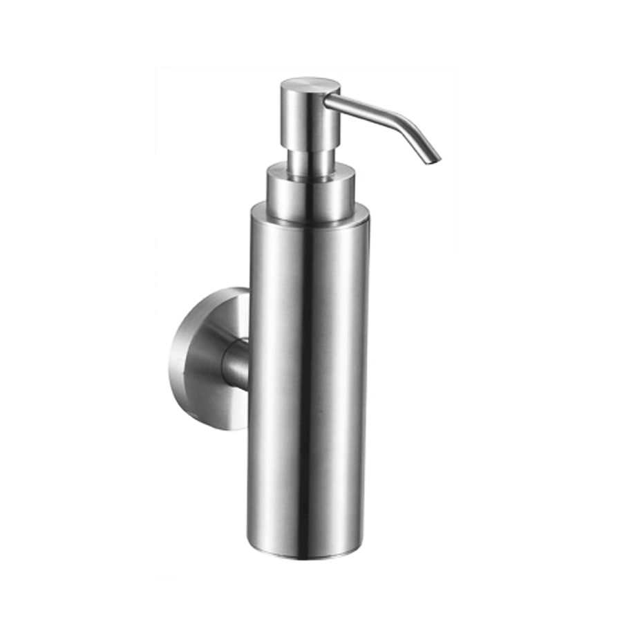 bathroom soap dispenser chrome