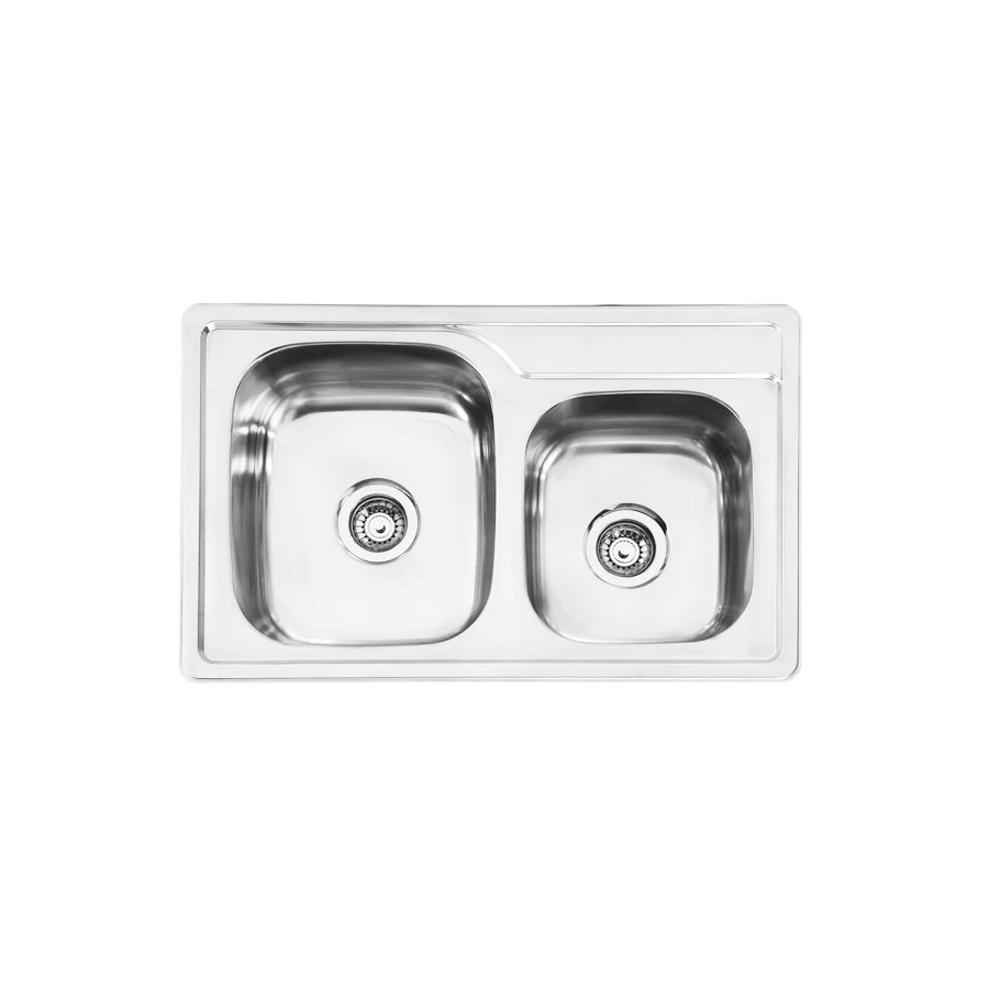 Inset Kitchen Sink Inset classic 175 no drainer sink the sink warehouse bathroom classic 175 no drainer workwithnaturefo