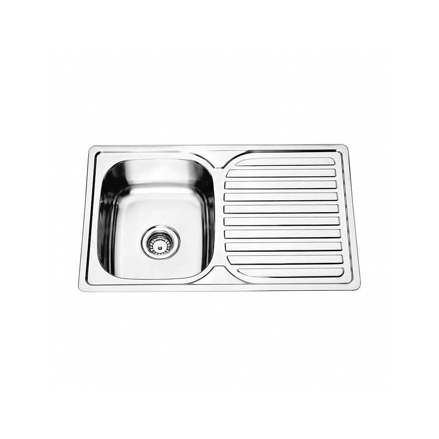 single bowl stainless steel sink