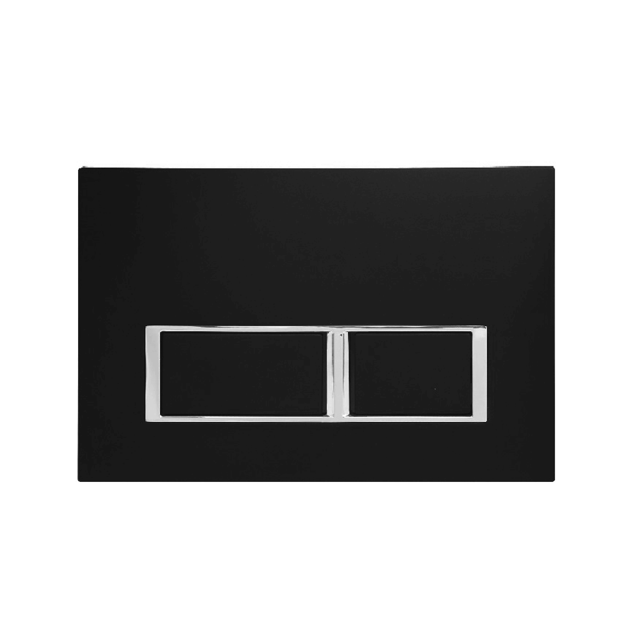 black square toilet flush buttons
