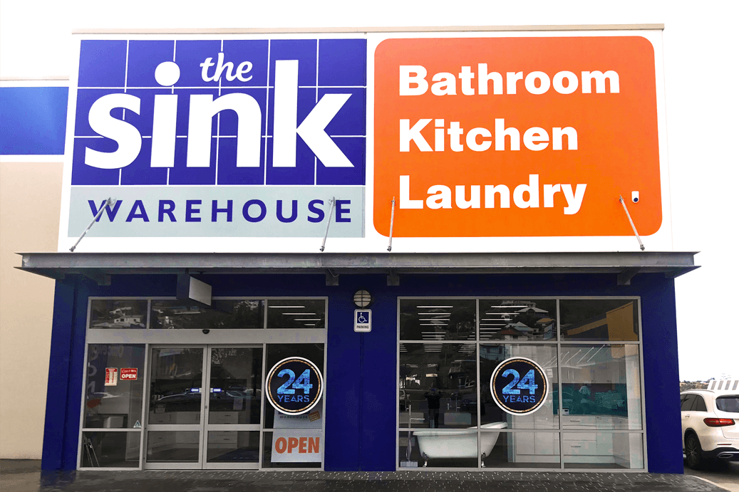 The Sink Warehouse Albany storefront and friendly staff