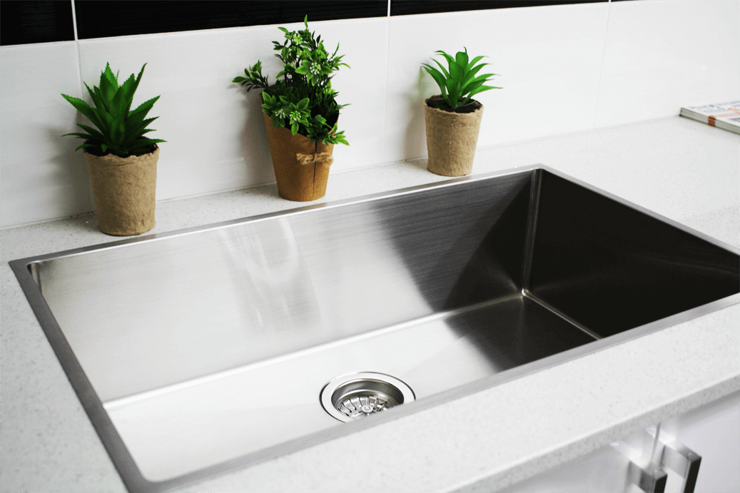 Square Stainless Steel Sink