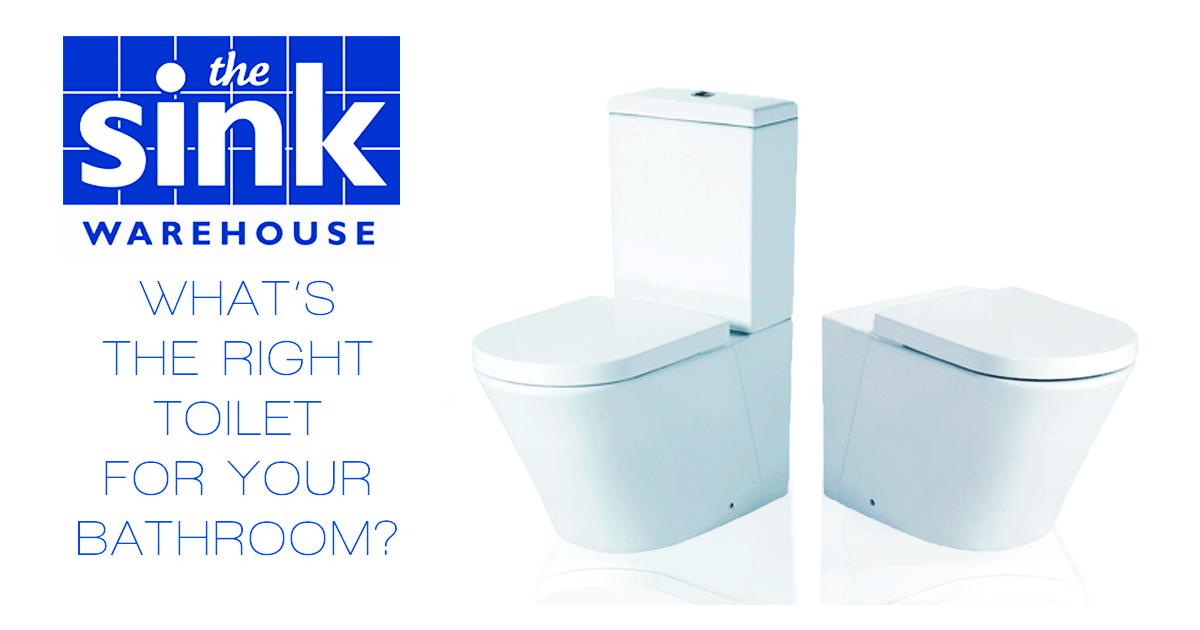 white toilets sink warehouse logo