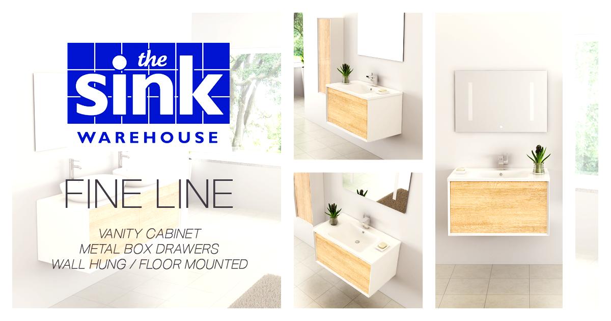 The Sink Warehouse bathroom vanities