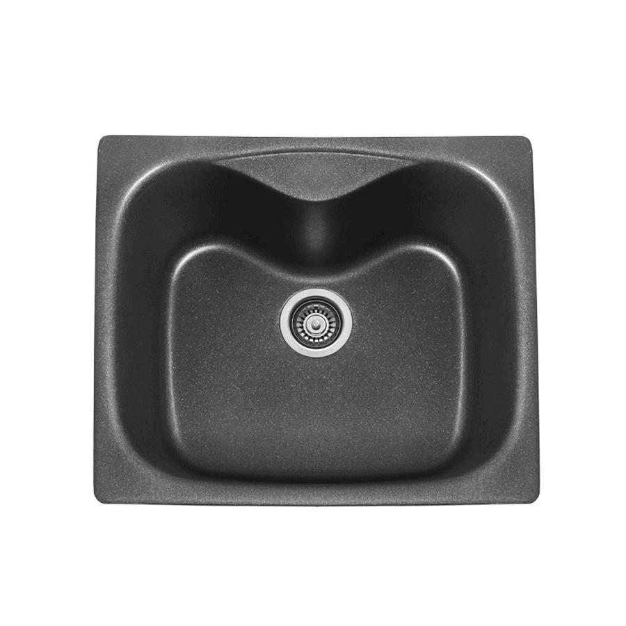 Black granite laundry trough`
