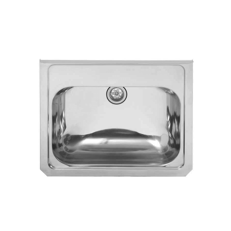 Stainless steel wall hand basin
