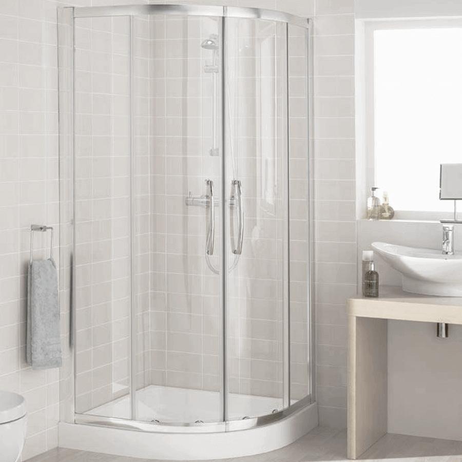 Round Shower Screen 900   The Sink Warehouse: Bathroom, Kitchen ...